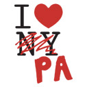 I Love/Heart PA Pennsylvania - t-shirts and other apparel