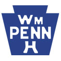 Historic William Penn Highway Sign shirts and apparel